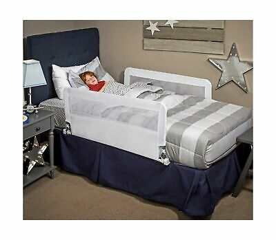 Regalo HideAway Double Sided Bed Rail Guard, with Reinforced Anchor Safety Sy...