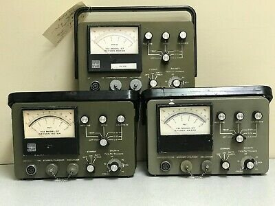 LOT of 3 YSI 57 Oxygen Meters