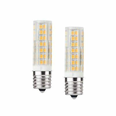 E17 LED Bulb for Microwave Oven Over Stove Appliance, Dimmable 6w E17 Bulb 60...