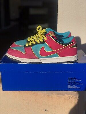 promo code 9f448 ea1b9 NIKE DUNK LOW SB Premium Pac-Man Ghost Size 10.5 Pass As DS 100 ...