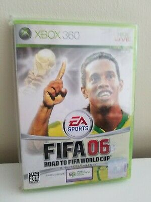 FIFA Soccer 2006 Xbox 360 EA Sports World Cup Xbox LIVE Foreign Language Not Eng
