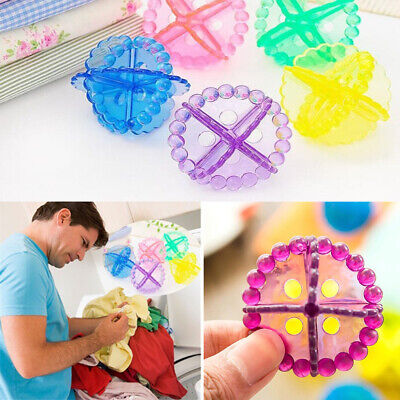 Fabric Home Living Laundry Ball Dryer Balls Anti-Winding Cleaning Tools