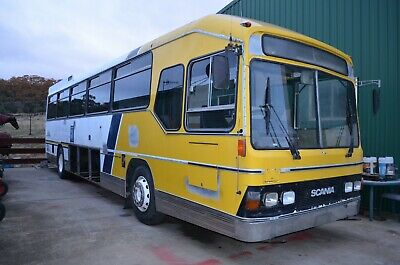 Scania Motorhome Bus 1987 - unfinished project