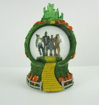 Wizard of Oz Emerald City Musical Snow Globe Westland Tune:Your are my sunshine