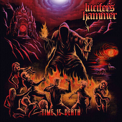 Lucifer's Hammer - Time Is Death Cd Stormspell Records 2018 Heavy Power New