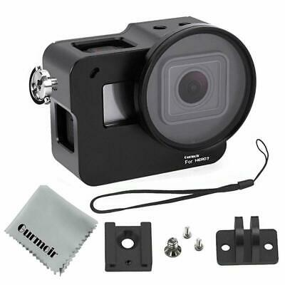 Gurmoir Case Aluminum Alloy Frame Housing for Gopro Hero 7 Black/Hero(2018) New