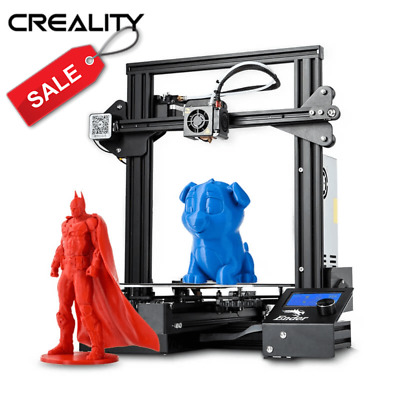 Creality Ender 3 Pro 3D Printer 220X220X250mm Mean Well Power 24V + Glass Bed
