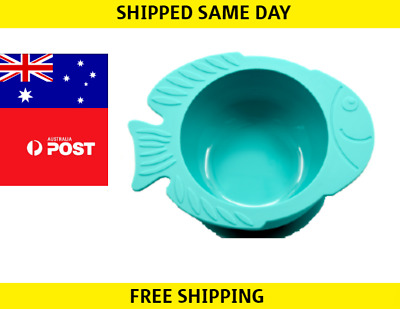 Baby Silicone Extra Strong Suction Cup Feeding Food Bowl For Toddler No Spill