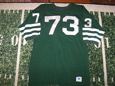 b0c14a86772 VTG Old 1950's Durene Champion Game Used Worn Football Jersey SEWN TWILL  NUMBERS