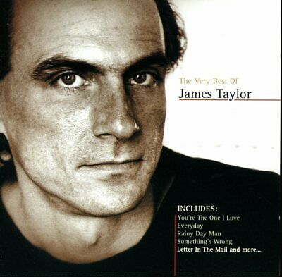 James Taylor - The Very Best Of (CD Album) inc Rainy Day Man & Everyday   VG