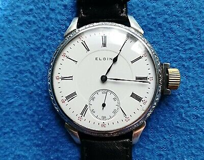 ELGIN-Antiguo reloj de pulsera/ ELGIN- vintage wristwatch. Circa 1915