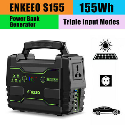 155Wh Portable Lithium Power Generator Power Station Power Bank 3 Lademethoden