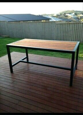 Custom Made Outdoor Table - For Cafe, Restaurants and Backyard