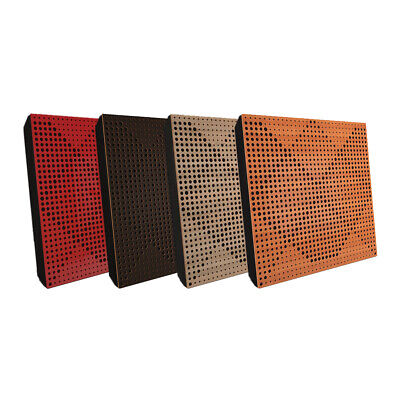 """2pcs 50*50*5cm Sound Absorption-Diffuse Acoustic Panel """"Wilds"""", (laminated wood)"""