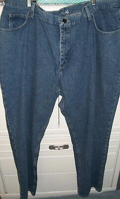 30fc03c6 LEE RIDER'S Woman's Plus 26W M Relaxed Fit Straight Leg Indigo Blue Jeans  NWT
