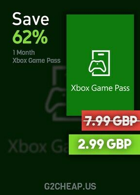 Xbox Game Pass 1 Month (SPECIAL OFFER)