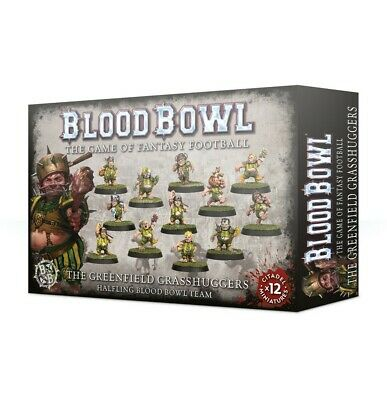 Greenfield Grasshuggers Blood Bowl Team Games Workshop Brand New