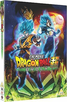 Dragon Ball Super Broly DVD New Sealed UK Compatible Fast & Free Postage