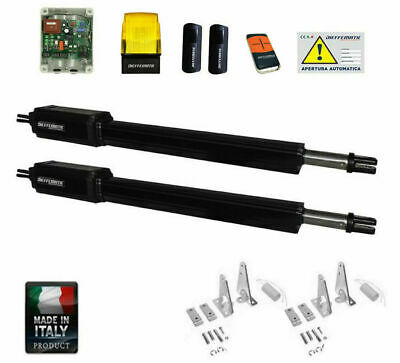 Automazione Cancello Battente A 2 Ante 230V Came Faac Bft Apricancello Kit Set