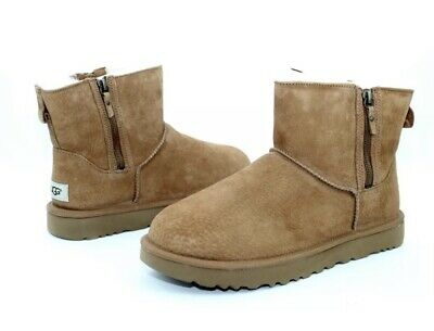 c12a7c8903f UGG WOMEN'S CLASSIC Mini II 2 Chestnut Suede boots New With Box ...