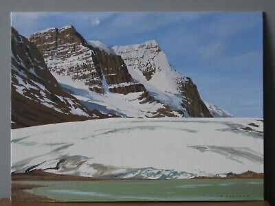 William Parlane Listed Canadian Artist Original Signed