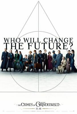 Fantastic Beasts Crimes of Grindelwald 27x40 Original Theater D/S Movie Poster