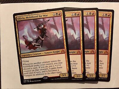 Olivia Mobilized for War x 1 MTG Magic the Gathering - NM