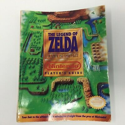 1992 The Legend of Zelda A Link to the Past Nintendo Player's Guide Game Book