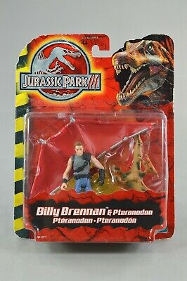 Jurassic Park III Billy Brennan & Pteranodon Action Figure Hasbro NEW