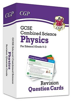 9-1gcse Combined Science Physics Edexcel Revision Question Cards Cgp 14 Feb2019
