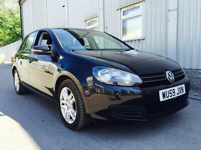2009 Volkswagen Golf 1.6 SE TDI DSG MOT HISTORY STARTS+DRIVES SPARES OR REPAIRS