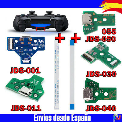 Conector de Carga Dualshock 4 USB JDS 001 011 030 040 050 055 Playstation 4 PS4