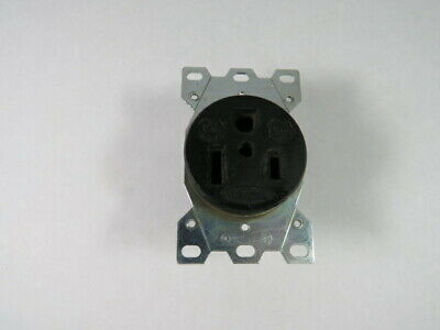 Hubbell HBL9367 Receptacle 50A 250V 2-Pole 3-Wire  USED