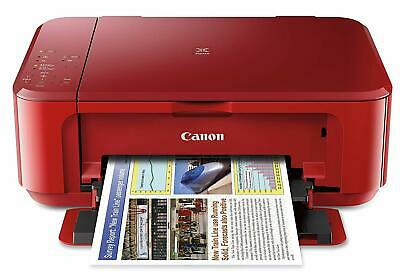 Canon PIXMA MG3620 Wireless All-In-One Inkjet Printer Red, INK INCLUDED