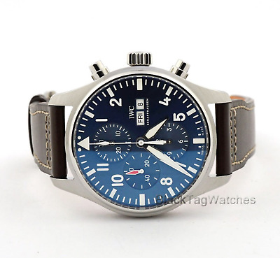 info for 4dc7e 226d3 IWC PILOT DOUBLE Chronograph IW371808, 2017 Box and Papers ...