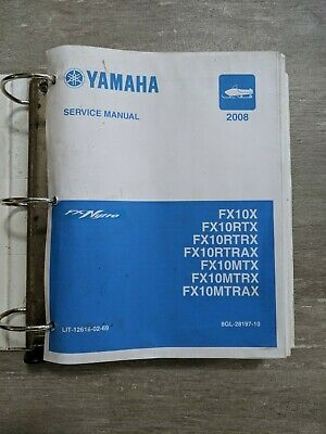 2008 yamaha fx nytro shop service manual