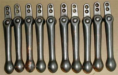 Antique Carpet Stair Rods Clips  5 Pairs.