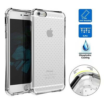 Funda Carcasa Silicona Antigolpes Maxima Proteccion Transparente Iphone 8 Plus