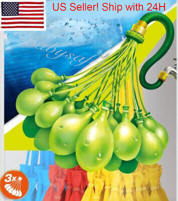 Bunch O Balloon style - 4 Packs 444 Pcs Self-Sealing Instant Water Balloons