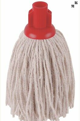 5 X Polyester 200g Mop Head In Red From Robert Scott