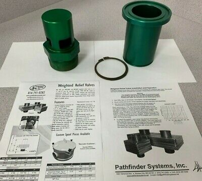 """PATHFINDER SYSTEMS INC 3"""" Weighted Pressure Relief Valve for Blowers"""