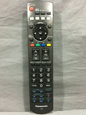 Genuine Panasonic N2QAYB000100 TV Replacement Remote Control OEM