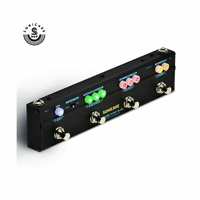 Sonicake Multi Guitar Effect Pedal Strip Sonicbar Twiggy Blues Combined Stage...