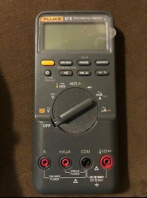 FLUKE 87 III True RMS Multimeter (Unit Only, No Accessories