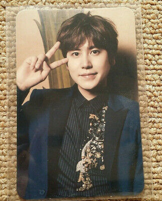 SUPER JUNIOR K.R.Y. JOIN HANDS Photocard Kyuhyun