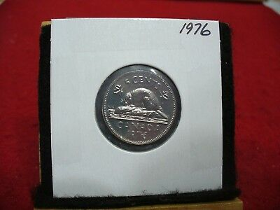 1976  Canada  1  Nickel 5 Cents  Coin  Proof Like Sealed   High  Grade