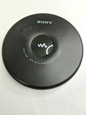 Sony Walkman D-FJ003 Portable CD Player FM/AM Radio Tested