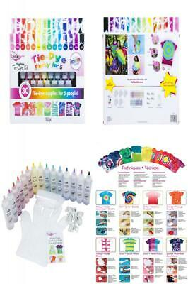 Tulip one-step tie-dye 15-Color Party Kit 1-Pack