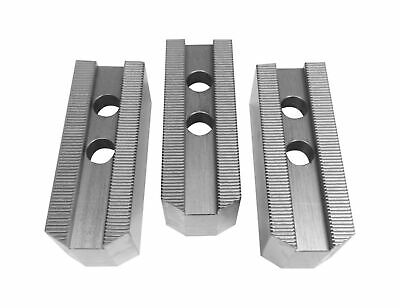 "TAIKI 12/"" TONGUE /& GROOVE STEEL SOFT JAW 3 PIECE SET 3900-4762"
