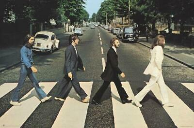 The Beatles Abbey Road Poster | $11 Postage | Fast Shipping within 24-48 Hrs